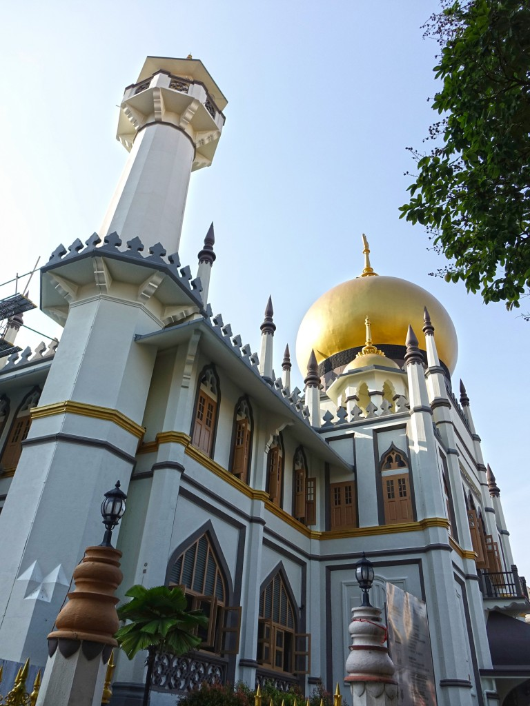 Icons of Singapore: Sultan Mosque on Arab street