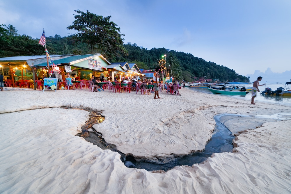 Small restaurant at Perhentian Islands, Malaysia