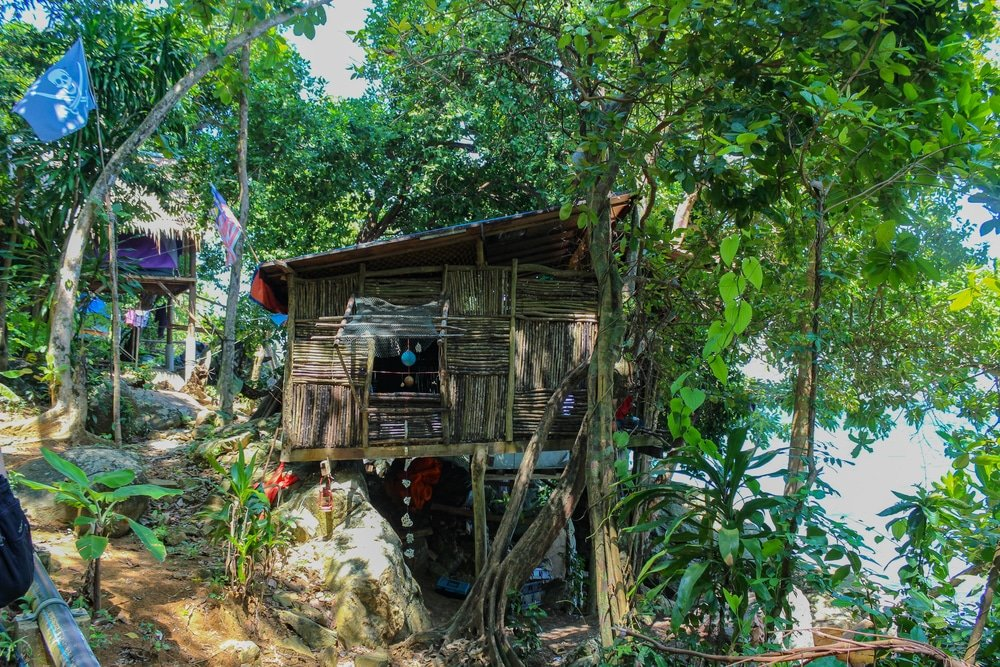 Perhentian Islands, Malaysia: tree house local