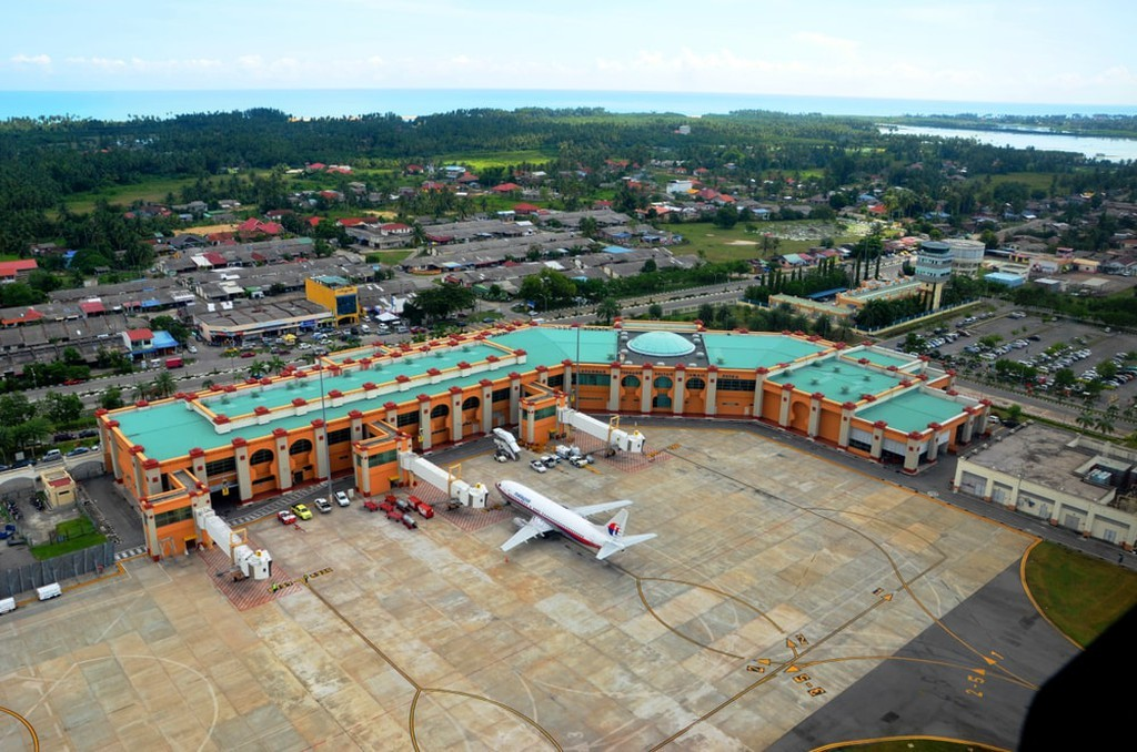 Flight to Kota Bahru to Perhentian Islands, Malaysia