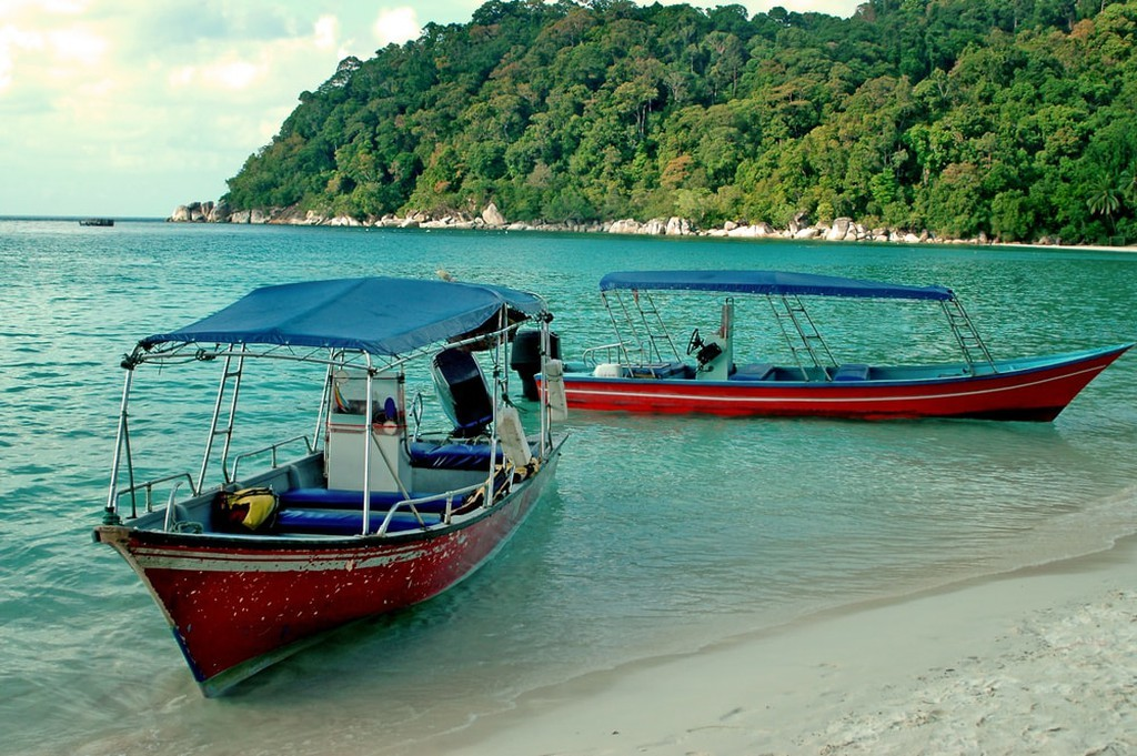 Perhentian Islands, Malaysia: Water taxi