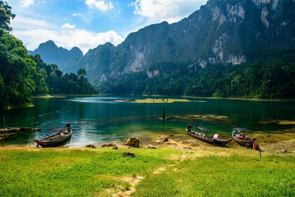 family holiday in Thailand: Khao Sok national park