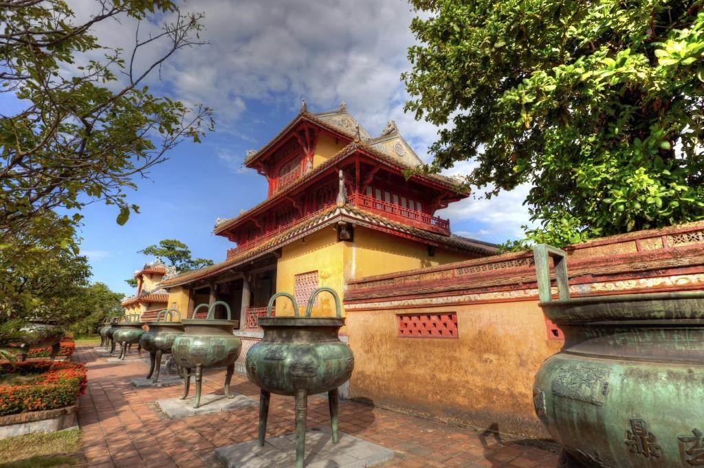 Vietnam for families: Imperial Citadel, Hue