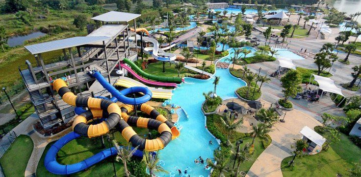 family holiday in Thailand: Black mountain water park hua hin