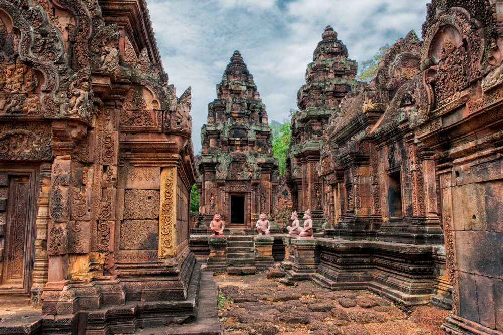 Cambodia with kids: Banteay Chhmar