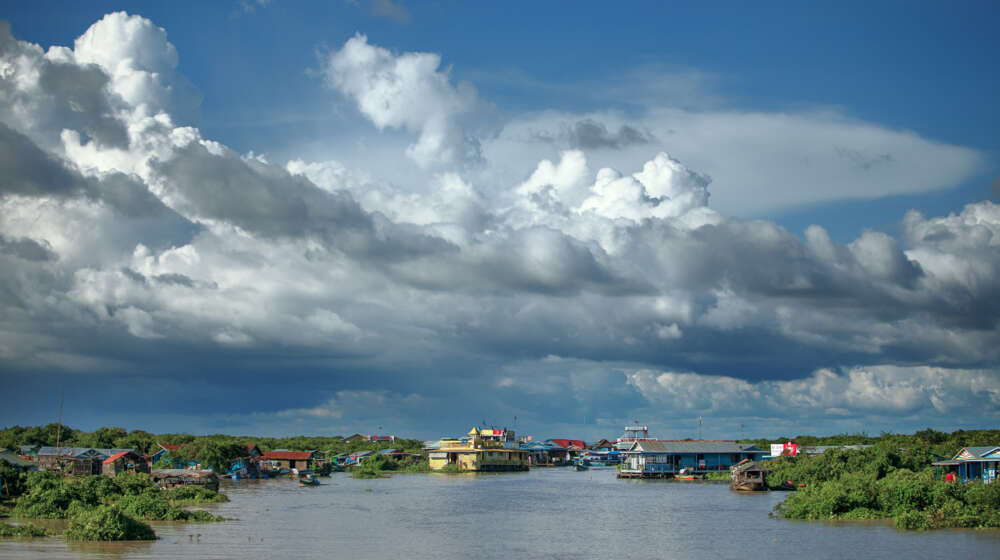 Cambodia with kids: Tonle Sap Lake