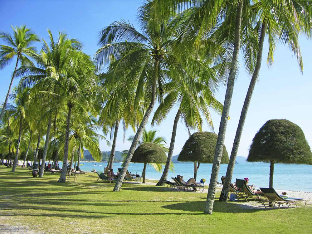 southeast asia wedding destinations: malaysia Langkawi Cenang beach