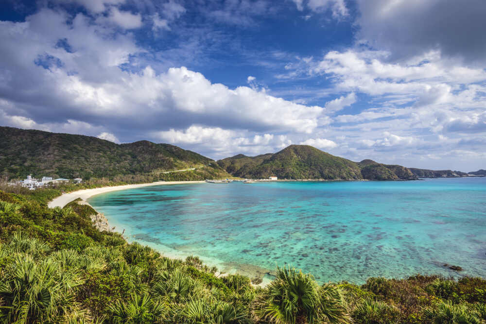 Okinawa private tour : Japan-Okinawa-Aharen-Beach