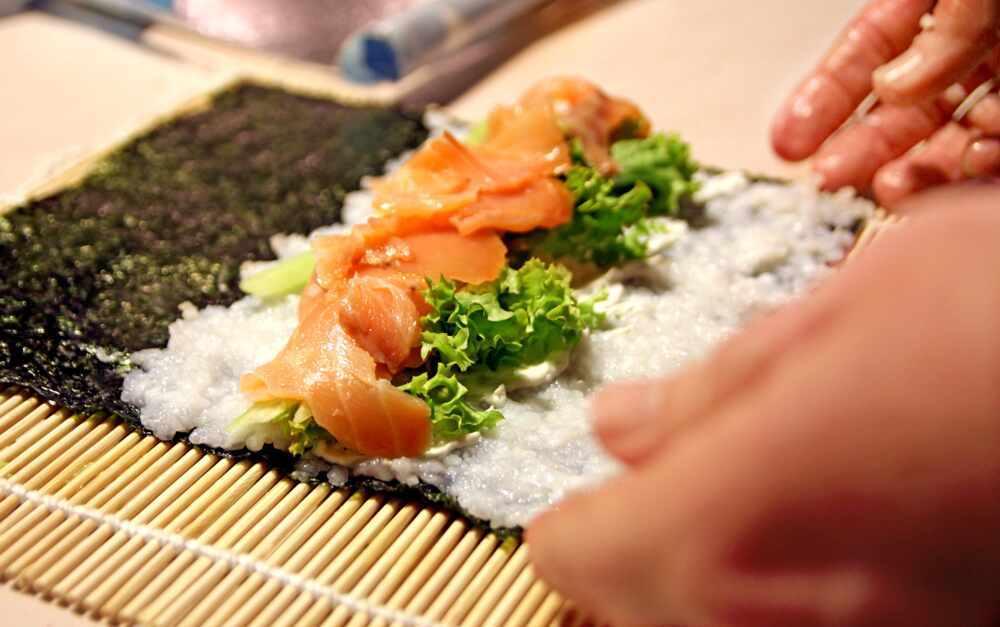 Japan cultural tour: Sushi