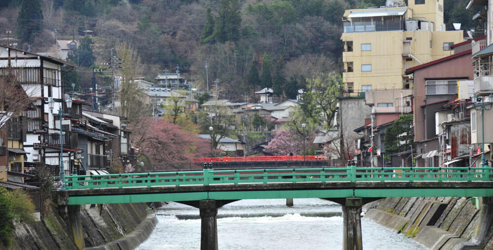 Takayama bridge in Japan