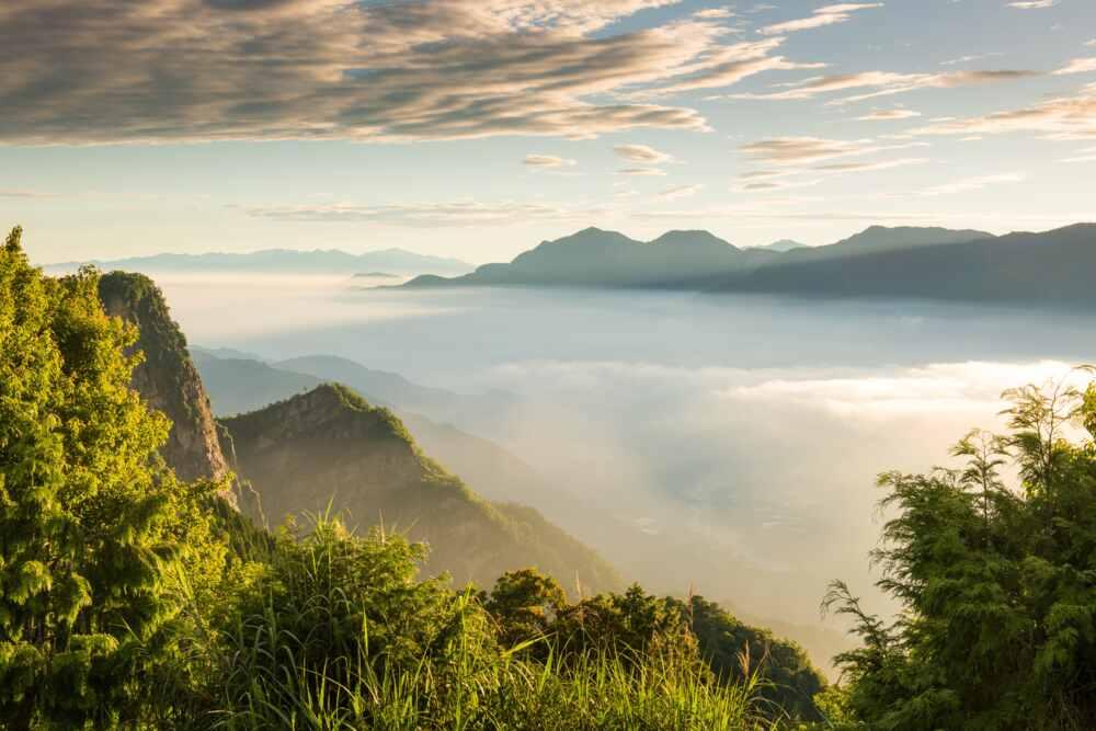 Taiwan mountains