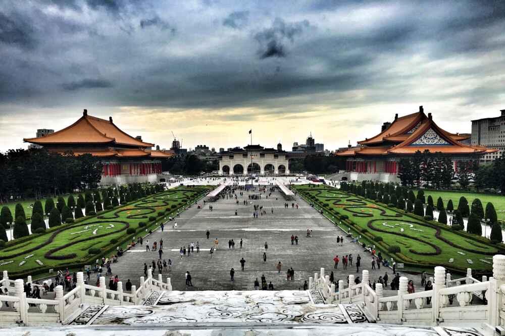 Taiwan city tour: Taipei at sunset