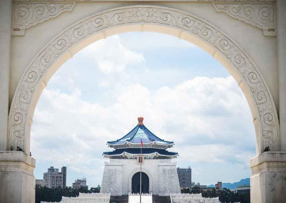 Taiwan city tour: temple at Taipei