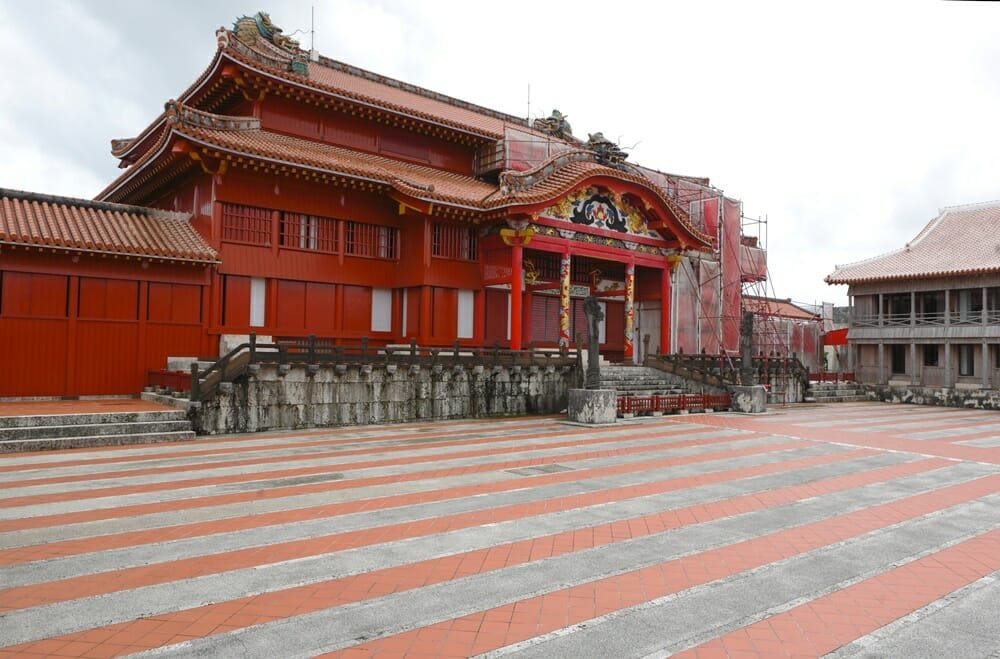 Okinawa private tour: Shuri Castle