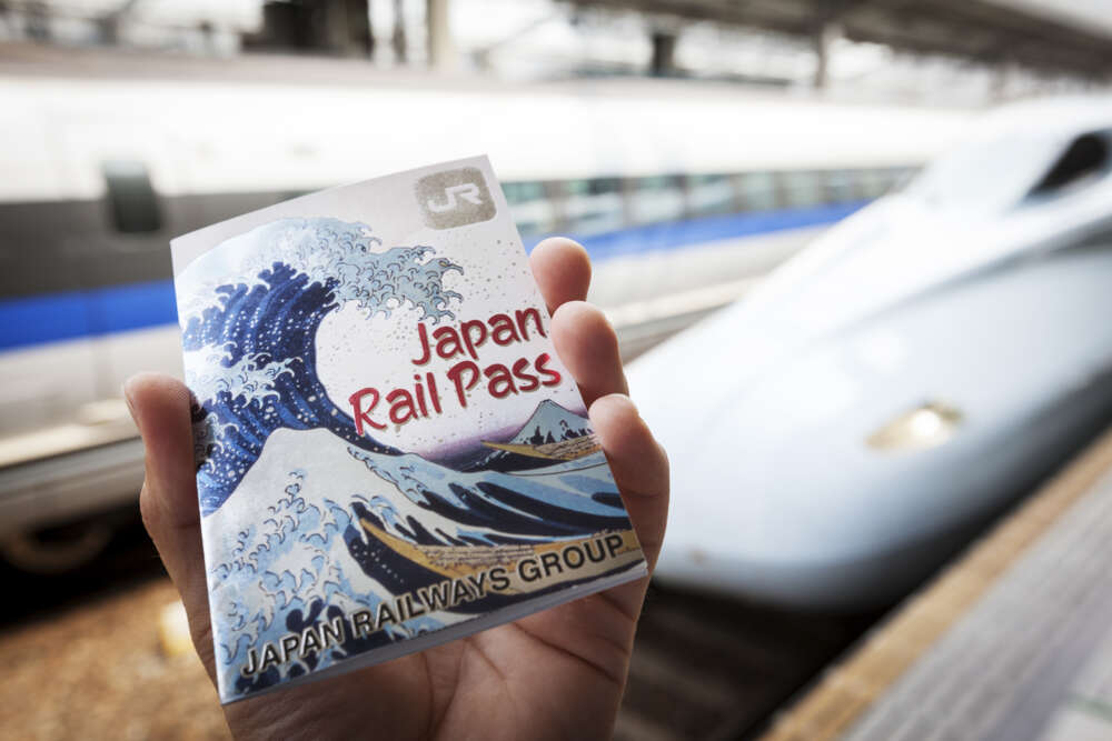 What to do in Japan with kids: Rail pass