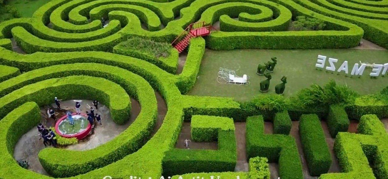pete maze to play during a khao yai family trip